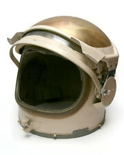 "HELMET FOR SOVIET SPACESUIT ""YASTREB"" FROM ITS TESTER(!), PLUS INTERCOM HEADSET"