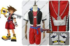 Kingdom Hearts 2.5 HD Remix Sora Cosplay Costume Ver.2 Helloween