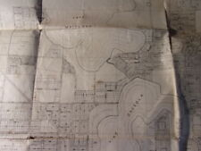 1925 winter park wall map florida original platte lakes fl real estate
