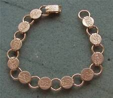 Gold Tone Charm Bracelet - Sarah Coventry Jewelry - Sara Cov - Vtg