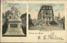 Gruss Aus Basel Switzerland c1905 Used Postcard