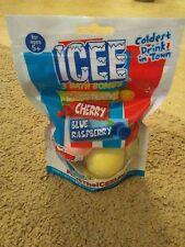 Icee Bath Bombs 3-Pack Lemonade Cherry Blue Raspberry New Sealed