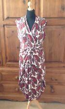 Paisley Midi Wrap Dresses