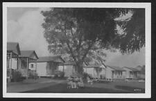 Postcard Richfield Springs Ny Fountain View Cabins