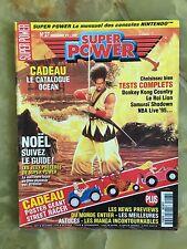 SUPER POWER 27 12/94 MAGAZINE DE JEUX VIDEO NINTENDO SEGA XBOX PLAYSTATION