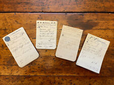 New listing Lot of 200+ Antique Vtg Pharmacy Rx Prescriptions Apothecary C1890-1902 Obsolete