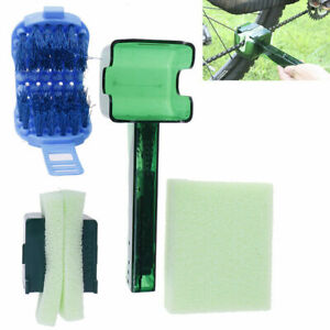 Cycling Chain Cleaner Multi Tool Set Flywheel Clean Wash Kit Cassette Clean