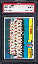 1979 Topps #259 Reds Team - PSA 9 - 40487664