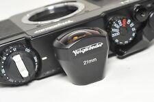 Voigtlander 21 mm Viseur, Claire Optics, très bon état esthétique