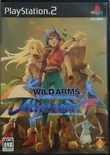 WILD ARMS Alter code: F PS2 Japan Import