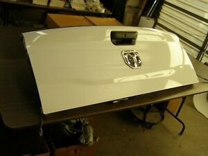 New T/O OEM Dodge Truck Ram 2500 Tail Gate 2019 2020 2021 w/ Camera Tailgate nos
