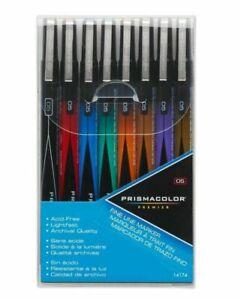 Prismacolor Premier 14174 Fine Line Marker 8-Color Set - 8-Color Set