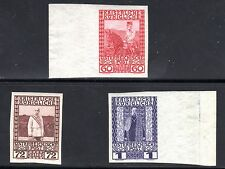 1908-16 Austria Scott 122-124 imperforate MNH signed by Oertel & Pfenninger-rare