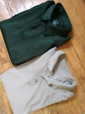 MEN'S SIZE L SHIRT (LOT OF 2) TACTICAL 5.11 & PROPPER POLO SHIRT CASUAL