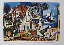Pablo Picasso MEDITERRANEAN LANDSCAPE Estate Signed Ltd Ed Giclee Medium Size