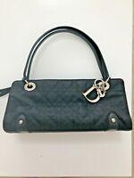 Christian Dior black leather east west cannage lady Dior handbag