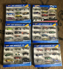 6 Hot Wheels Gift Packs MUSCLE CARS CHEVROLET FORD DODGE CONCEPT CARS MIX LOT 60