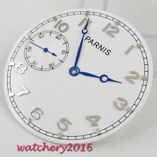 38.9mm white dial fit 6497 sea gull movement Mens Watch dial + hands