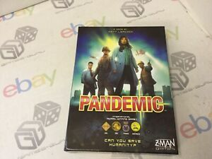 Z-Man Games - Complete VGC Pandemic Home entertainment Board Game-2013