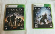 X-BOX 360 VIDEO GAME LOT HALO 4 AND HALO REACH [LOT OF 2] ~USED~