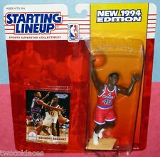 1994 CALBERT CHEANEY Washington Bullets Rookie - low s/h - Starting Lineup