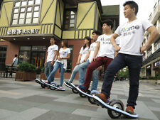 Electric Scooter Unicycle Balancing Skateboard One Wheel Board + LED & Bluetooth