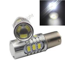 10Pcs White S25 1156 BA15S 5630 5730 15SMD LED Back up Reverse Light Bulb Lamp