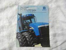 New Holland TJ 275 325 375 425 450 TJ500 tractor brochure