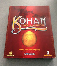 Kohan: Immortal Sovereigns PC CD-ROM (PC, 2001) NTSC - UC US/CA  WIN   NIB   NEW