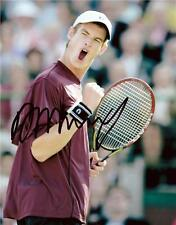 "Andy Murray - Colour 10""x 8"" Signed Photo - UACC RD223"