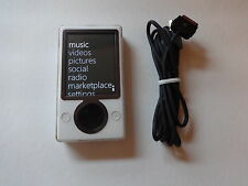 MICROSOFT  ZUNE  WHITE  CUStOM  120GB...NEW  HARD DRIVE...