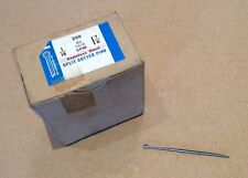 Qty 100  BS1574 Stainless Steel Imperial Split Pins 1/16 dia x 1 7/8  long.