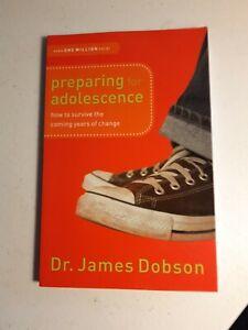 Preparing for Adolescence - Dr James Dobson - Paperback - Free Postage