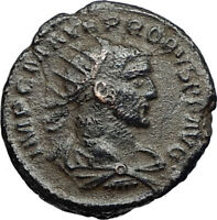 PROBUS Authentic Ancient Genuine 276AD Roman Coin of Antioch w JUPITER i67435
