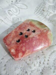 Marble / Alabaster Polished Fruit Watermelon