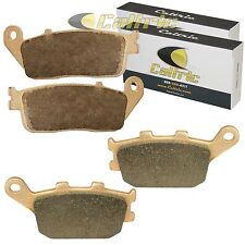 FRONT and REAR BRAKE PADS Fits HONDA VT1100C3 Shadow 1100 Aero 1998-2002