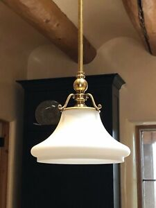 """Hudson Valley 7821-AGB Orchard Park 12.75"""" Light Pendant in Aged Brass $652.00"""