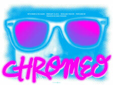 Chromeo February 2011 Limited Edition Gig Poster