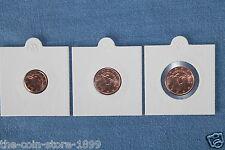 Zypern 2013  1 / 2 / 5 Euro Cent aus Rolle KMS MINI-Auflage 90.000 Sätze RAR!!