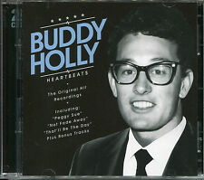 BUDDY HOLLY HEARTBEATS - 2 CD BOX SET - PEGGY SUE, THAT'LL BE THE DAY & MORE