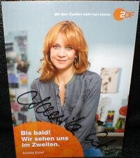 Annika Ernst, Autogramm, original signiert!