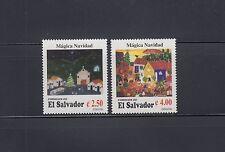 El Salvador 1996 Christmas Sc 1452-1453  Mint Never Hinged