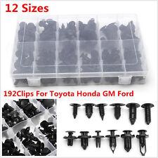 192X Clip Automotive Push Pin Retainer Assortment Kit For Toyota Honda GM Ford