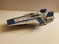 Pro built 1/48 scale Star Wars the Last Jedi Resistance A-Wing Fighter