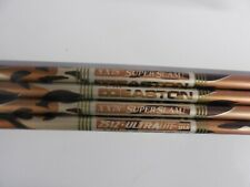 4 Easton XX78 Superslam Ultralite 2512 Aluminum Arrow Shafts 30""