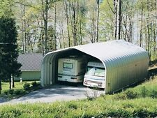 """Steel building kit from US buildings 35' 9"""" x 20' 2"""" x 12' 1"""" open ends"""