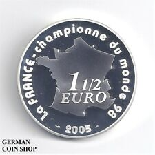 France France 1 1/2 Fifa World Cup 2006 Silver Pp Football - Silver
