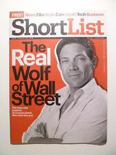 SHORTLIST MAGAZINE 306 16 JAN 2014 GARY LINEKER JORDAN BELFORT LEONARDO DiCAPRIO