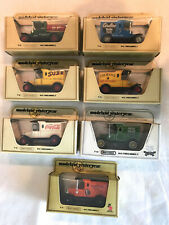1970's 7 Diff Ford Model T MATCHBOX Lesney MODELS OF YESTERYEAR Cars Mint Boxed