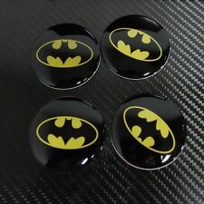 4x Batman 56mm Car Steering Wheel Center Hub Cap Emblem Badge Stickers Universal